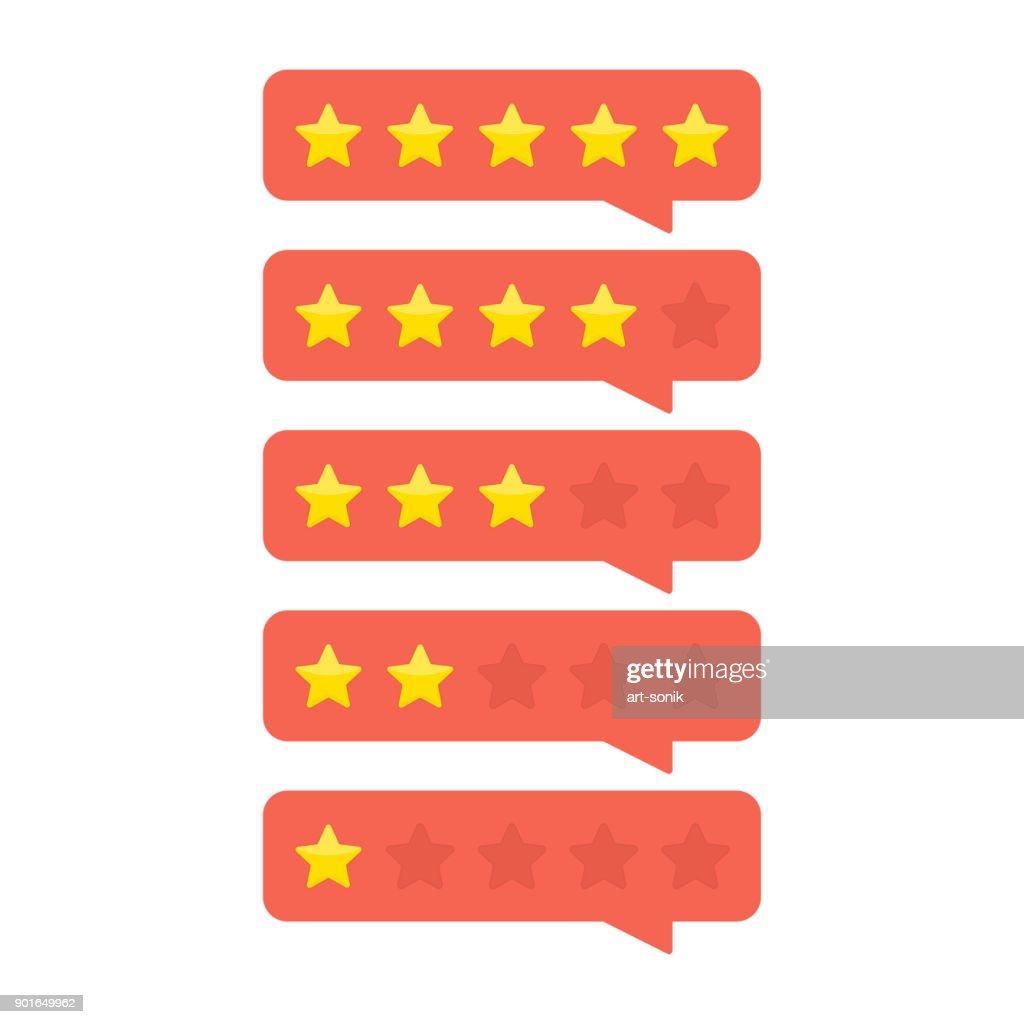 Customer feedback concept.