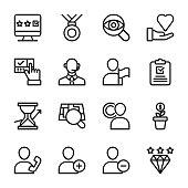 Customer Relationship Management Icons