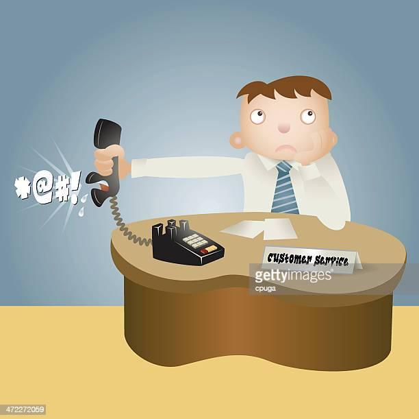 Kunden Service-Beschwerde
