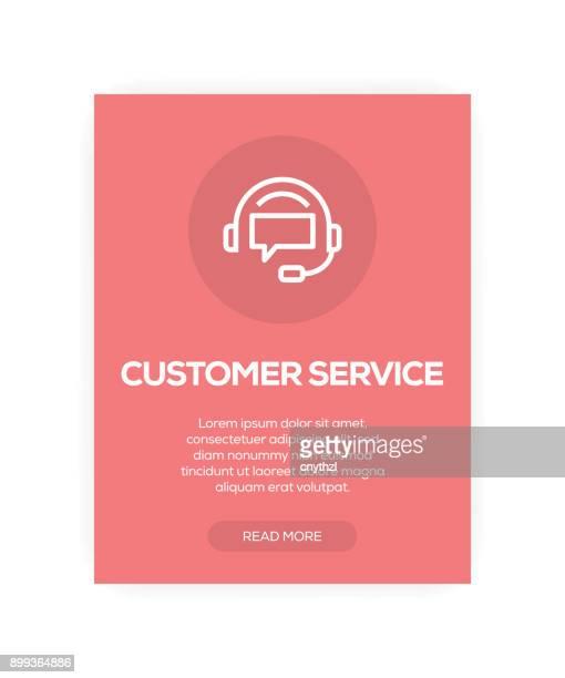 Kunden-Service-Konzept