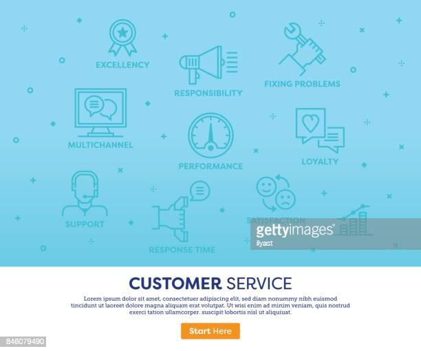 Customer Services Concept
