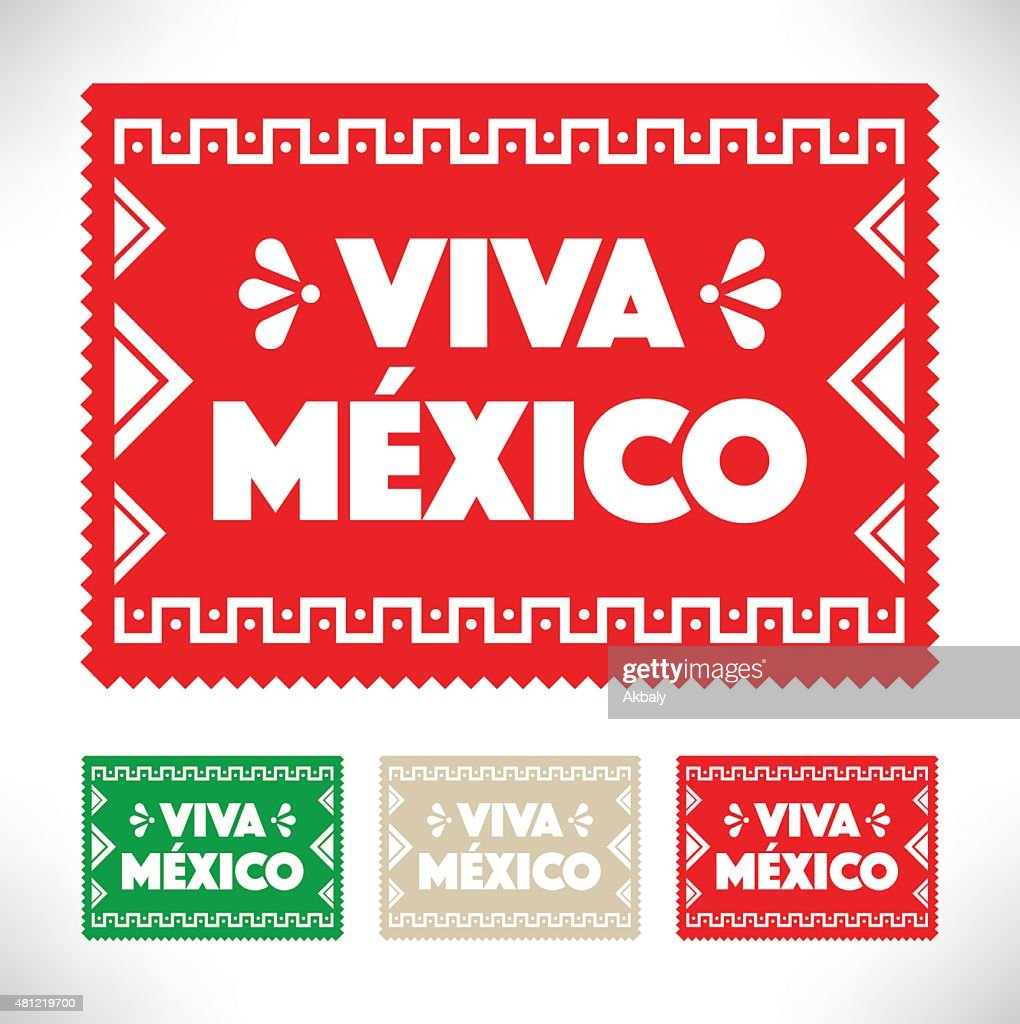Cut Out Paper - Viva Mexico