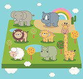 Cute Animal World