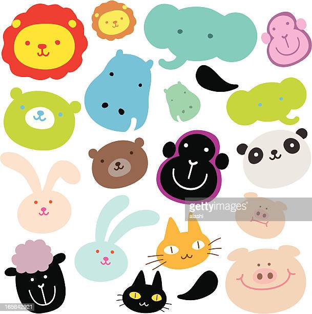 Cute Animals ( Emoticons )