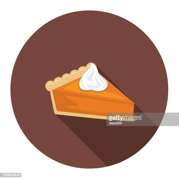 Cute Autumn Icon - Pumpkin Pie