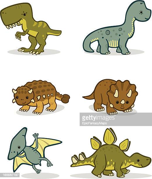 Cute Baby Dinosaurs