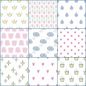 Cute baby shower backgrounds