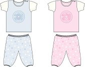 Cute Baby/Toddler Top and Bottom Set