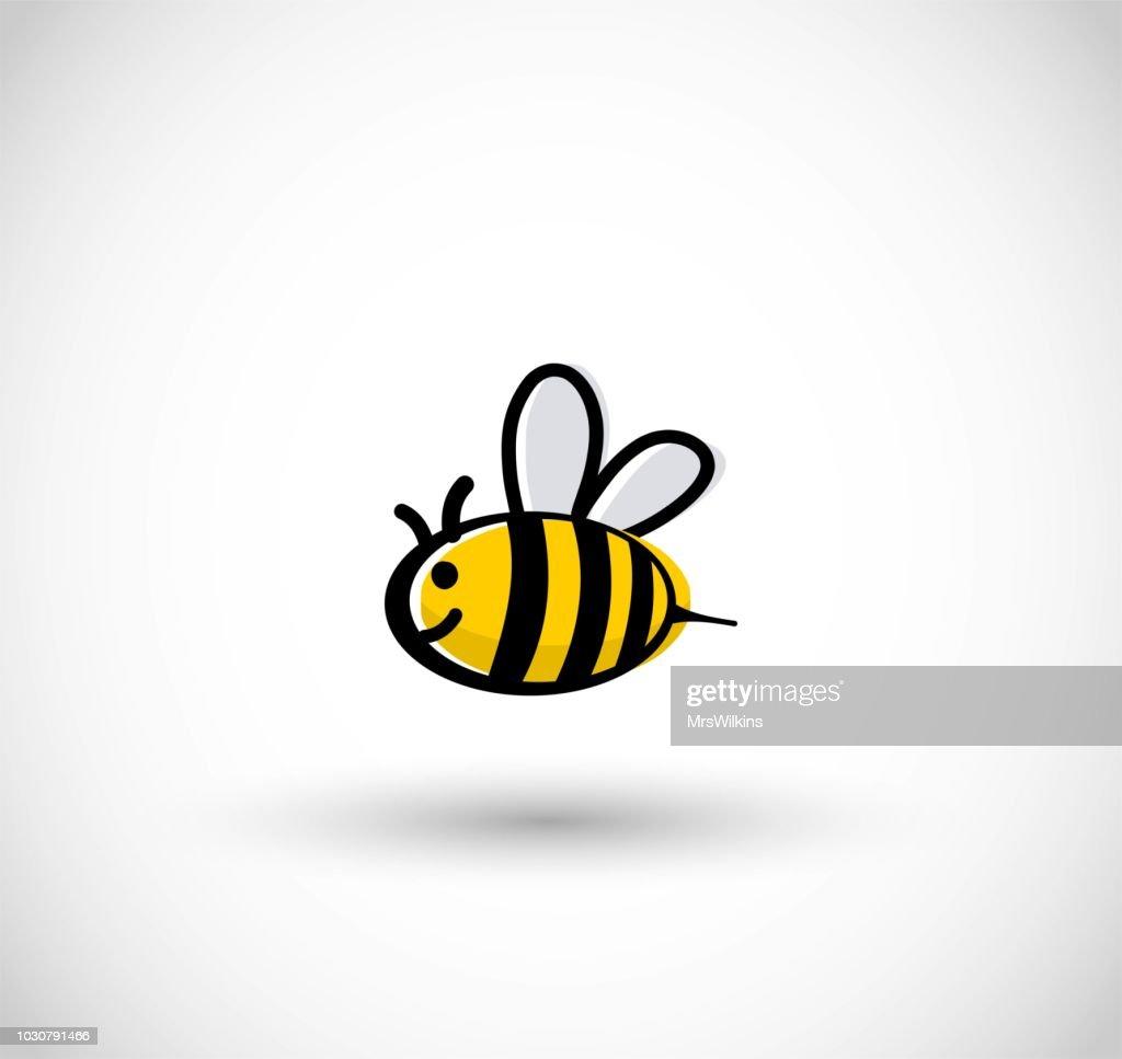 Cute bee vector illustration