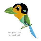 cute bird painting