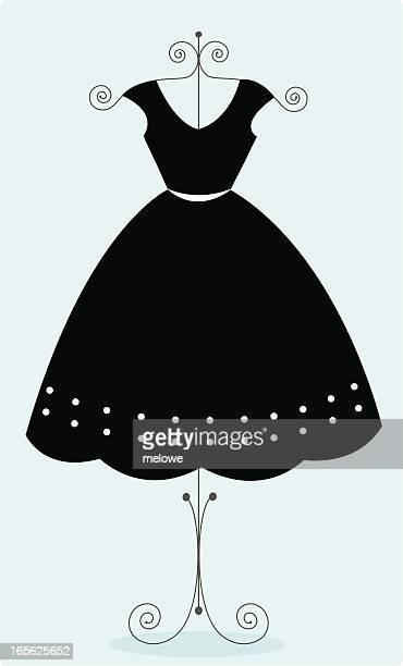 Cute black sundress