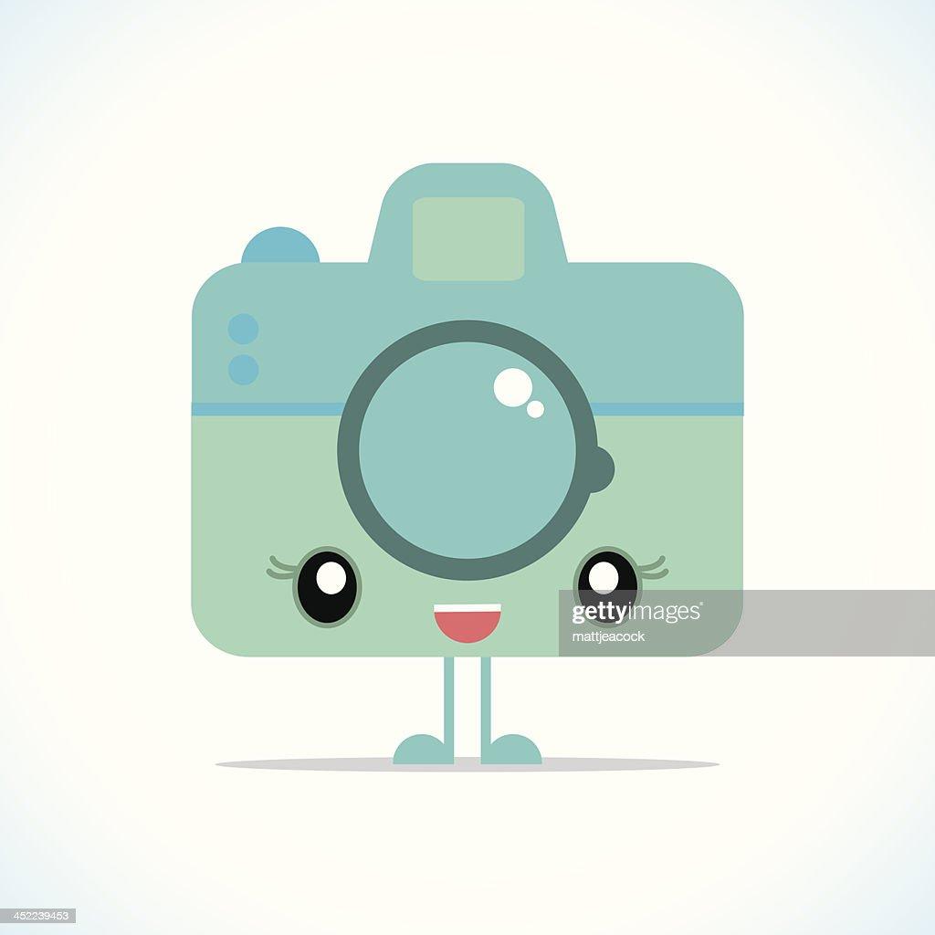 Cute camera character