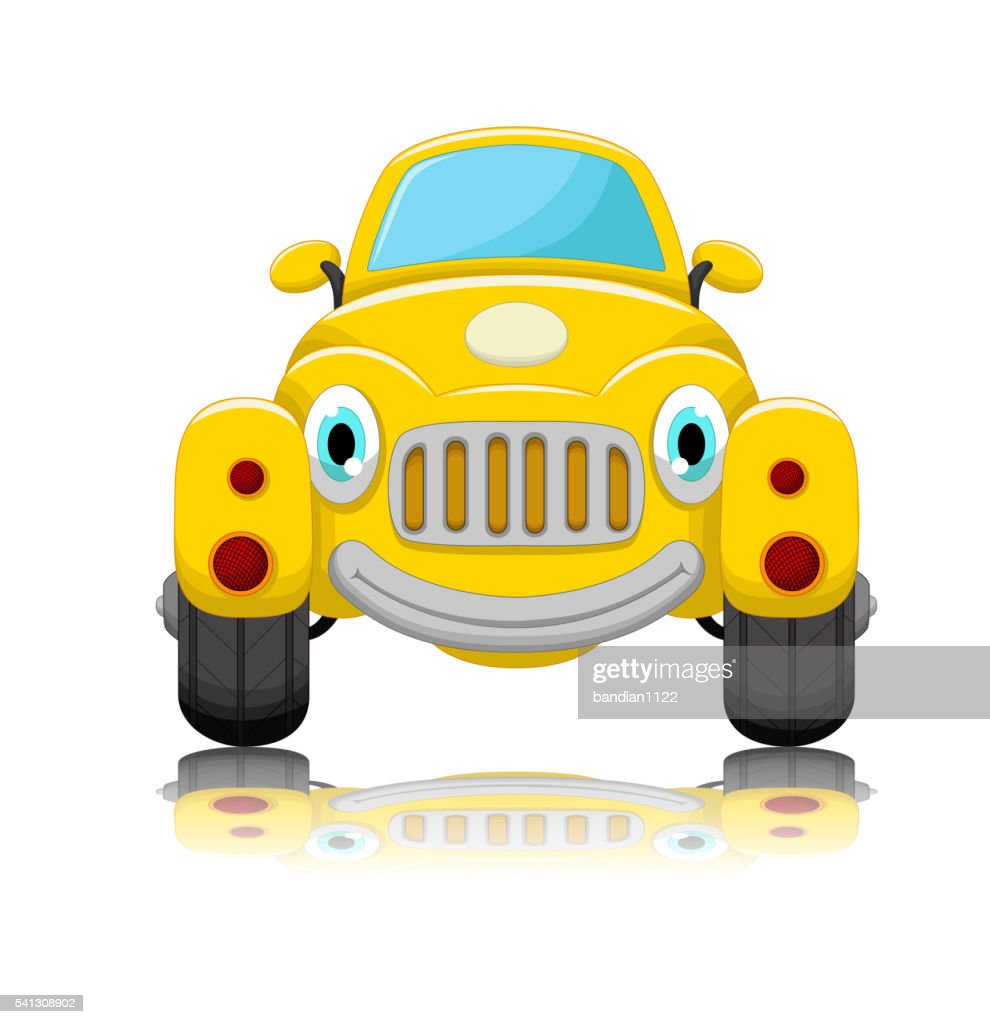 cute car cartoon