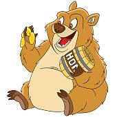 cute cartoon bear