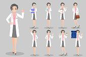 cute cartoon doctor