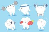 cute cartoon tooth