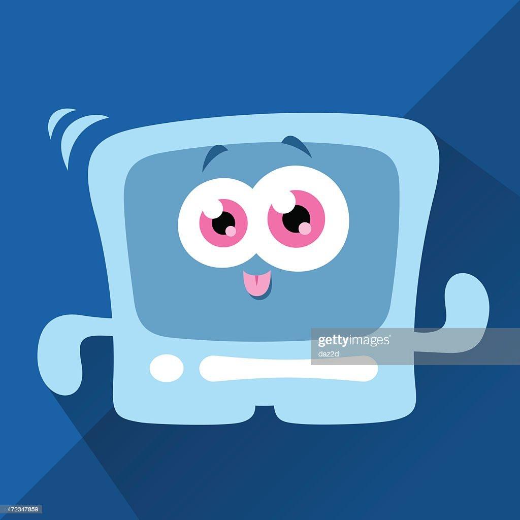 Cute Character -  Hi-tech