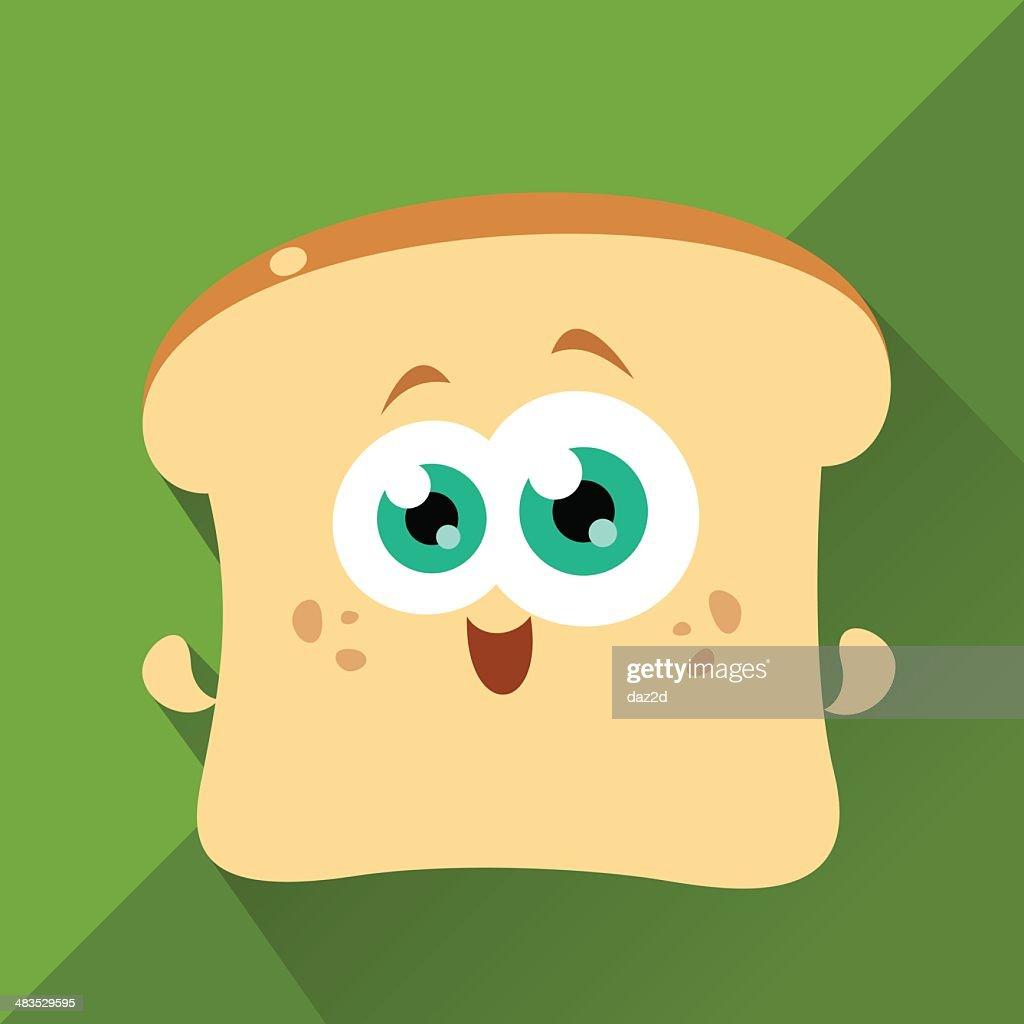 Cute Character - Toasty : stock illustration
