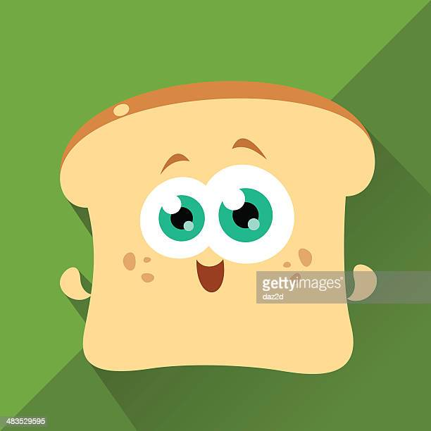 Cute Character - Toasty