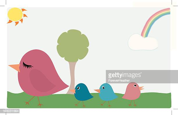 Cute Chicks - Family Stroll