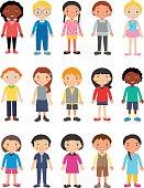 Cute Children Characters
