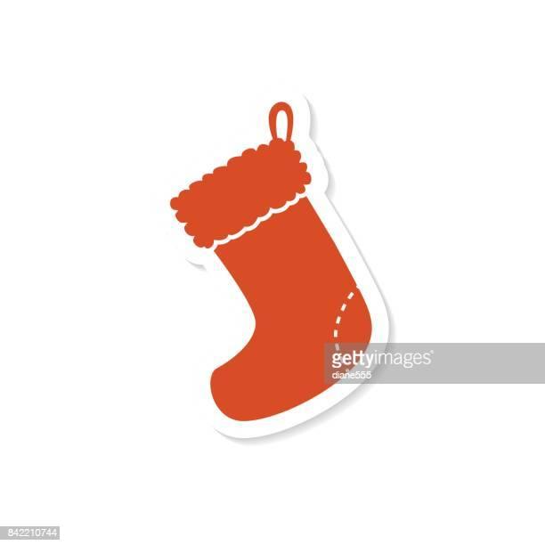 かわいいクリスマス アイコン ステッカー