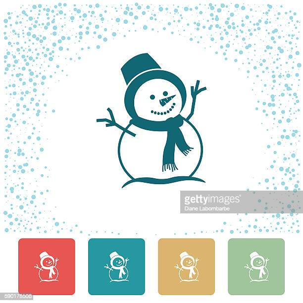 Cute Colourful Christmas Holiday Icons