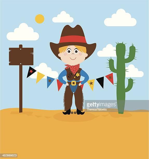 ilustraciones, imágenes clip art, dibujos animados e iconos de stock de linda cowboy - pantalón de cuero