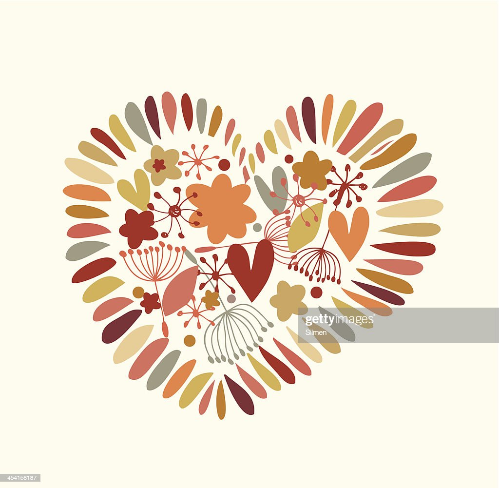 Cute design element for cards, crafts, prints