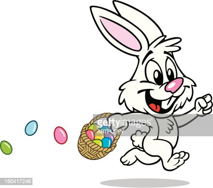 Image result for running easter bunny