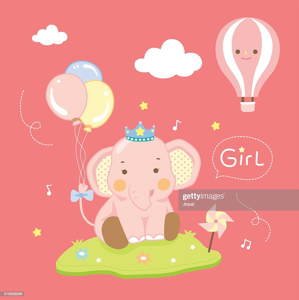 cute elephant girl