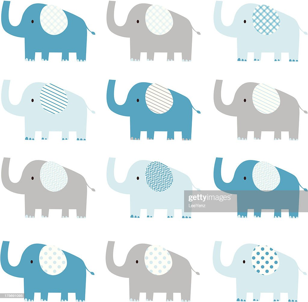Cute Elephant pattern