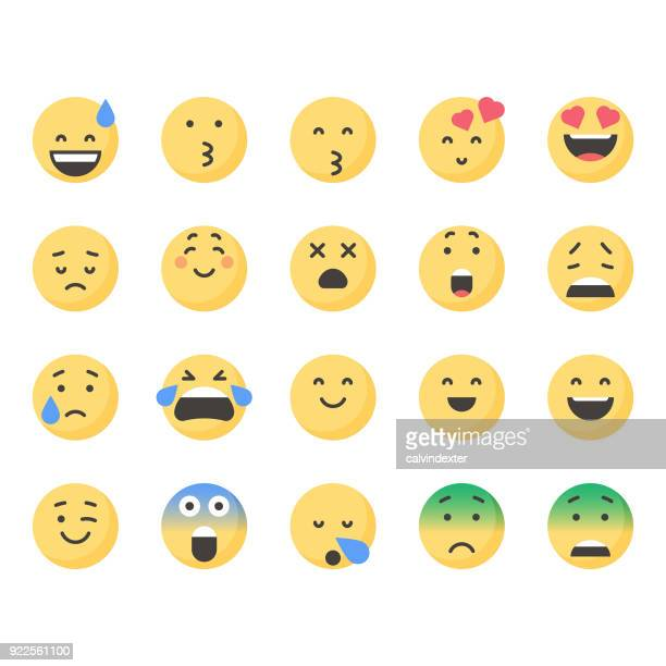Cute emoticons set 3