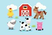 Cute Farm Animals