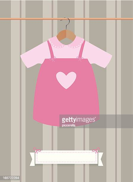 Cute female baby's dress