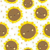 Cute flowers pattern