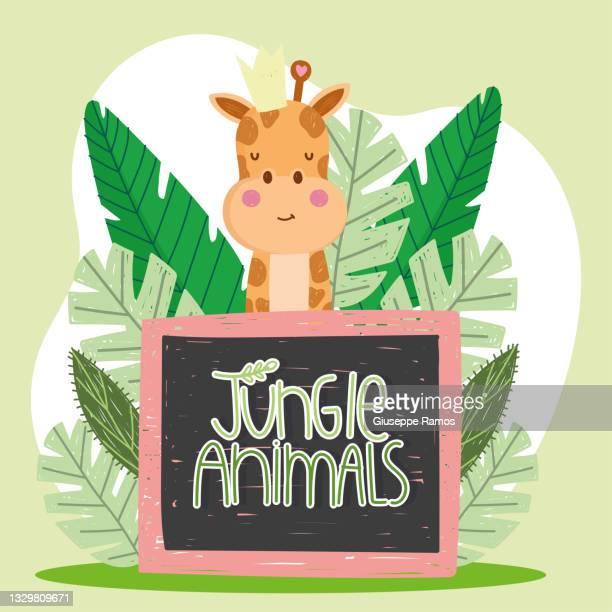 cute giraffe jungle board