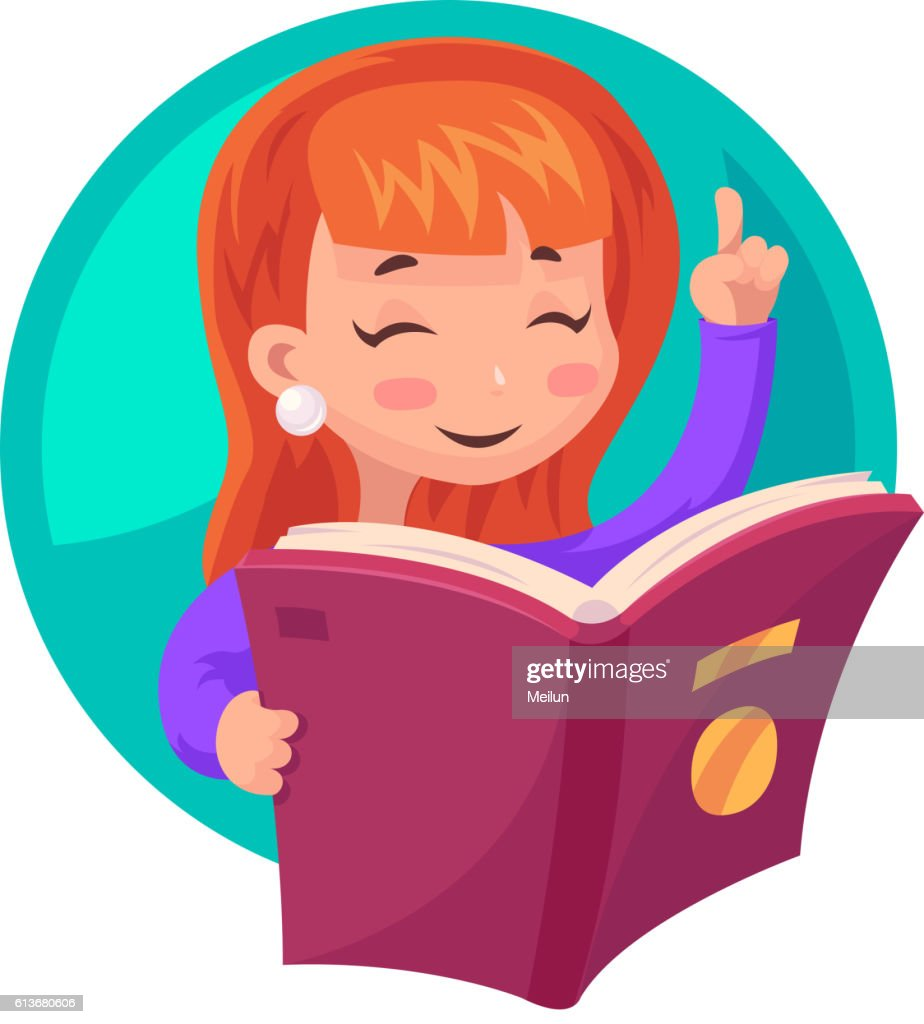 Vorlesen im Kindergarten Zeichnung, Bild schwarz-weiss, Clipart, Comic,  Cartoon kostenlos