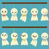 Cute Hanging Dolls