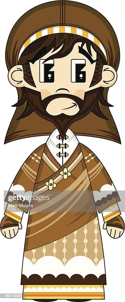 Cute Joseph Nativity Character