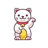 Cute Maneki Neko