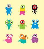 cute mascot vector collection