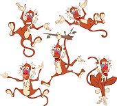 Cute Monkeys for you Design