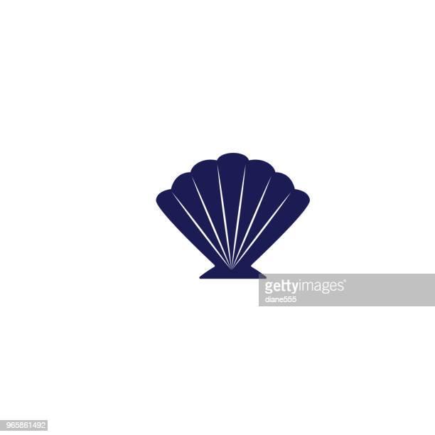 かわいい航海アイコン - 貝殻