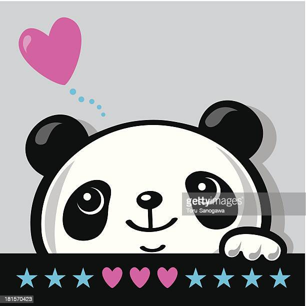 Panda Bear Vector Art And Graphics Getty Images