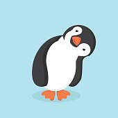 Cute Penguin cartoon