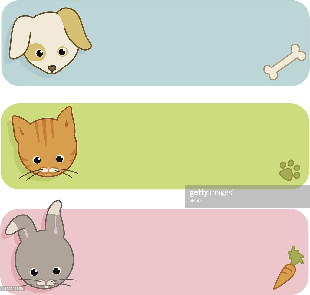 Cute Pet Banners