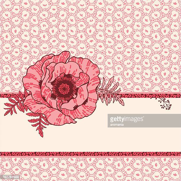 cute poppy - poppy stock illustrations