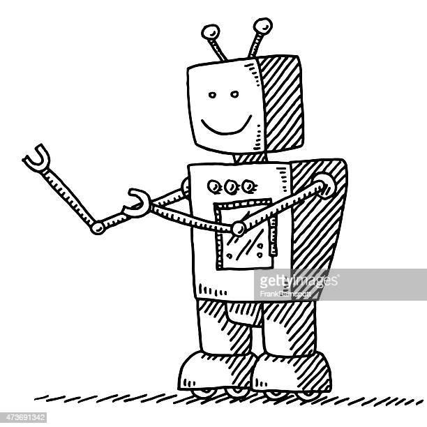 Cute Robot Drawing