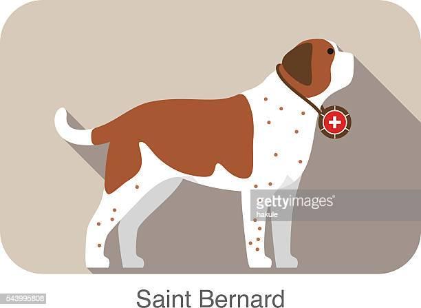 St. Bernard Stock Illustrations And Cartoons